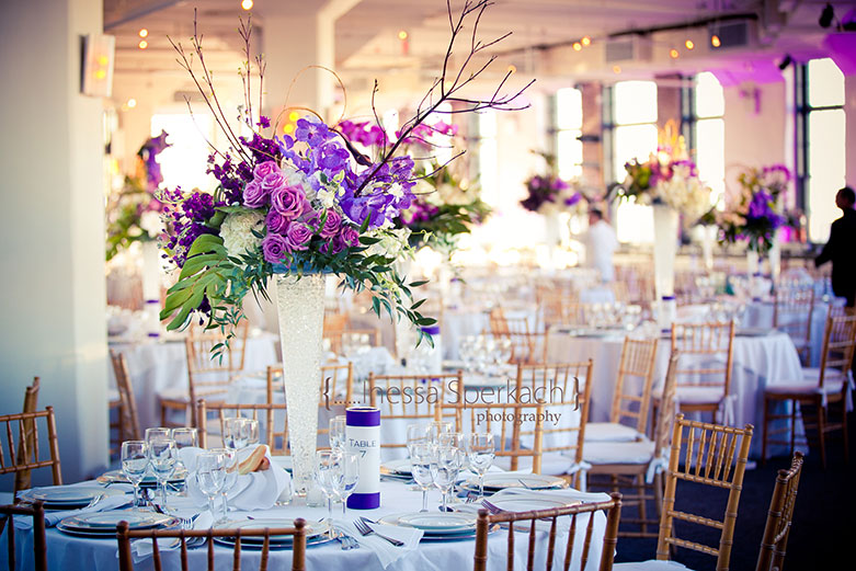 Flowers and Table Design